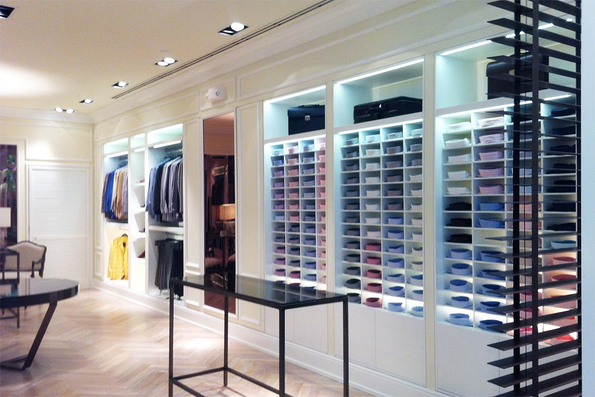 Kiton Clothing Store – Bal Harbour Shops | Archiquadra. – Miami ...