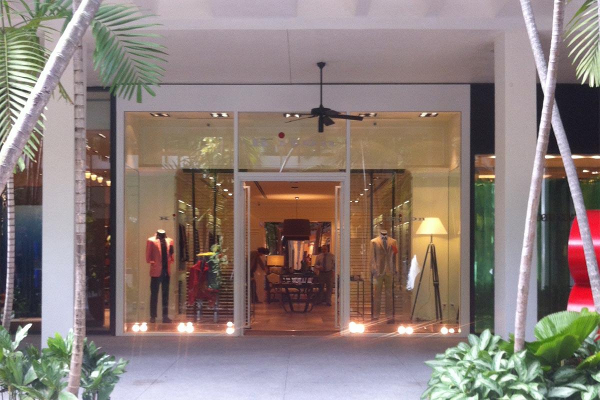 Kiton Clothing Store Bal Harbour Shops